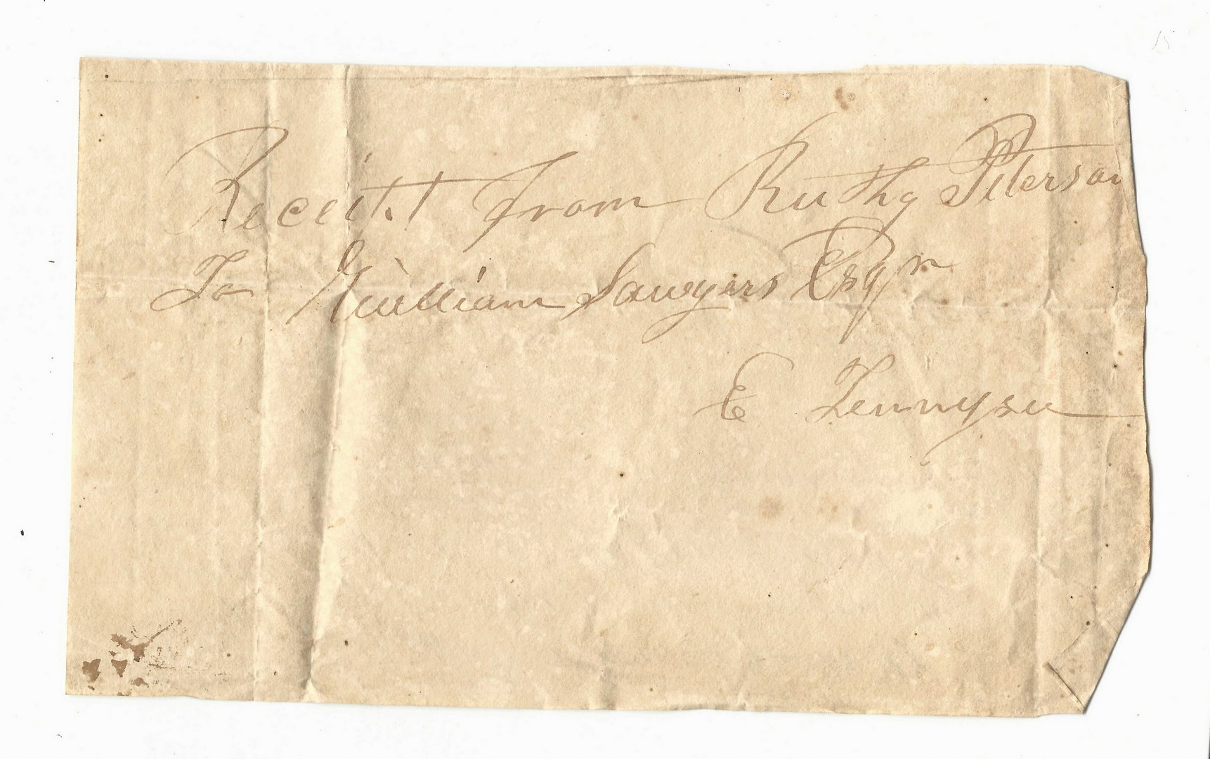 Lot 756: Large Sawyers and McBee Family Archive, 1820-1907, 100 plus items