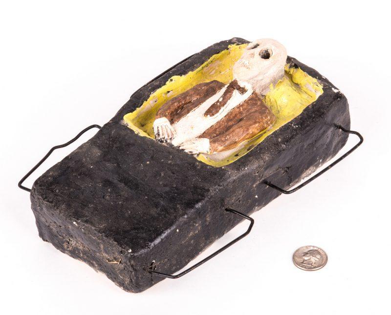 """Lot 335: James """"Son"""" Thomas, Coffin Sculpture"""