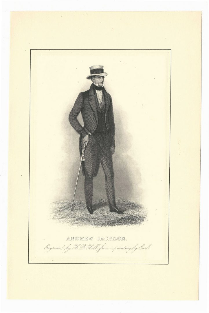 Lot 424: Early Andrew Jackson Signed Letter to Richard K. Call