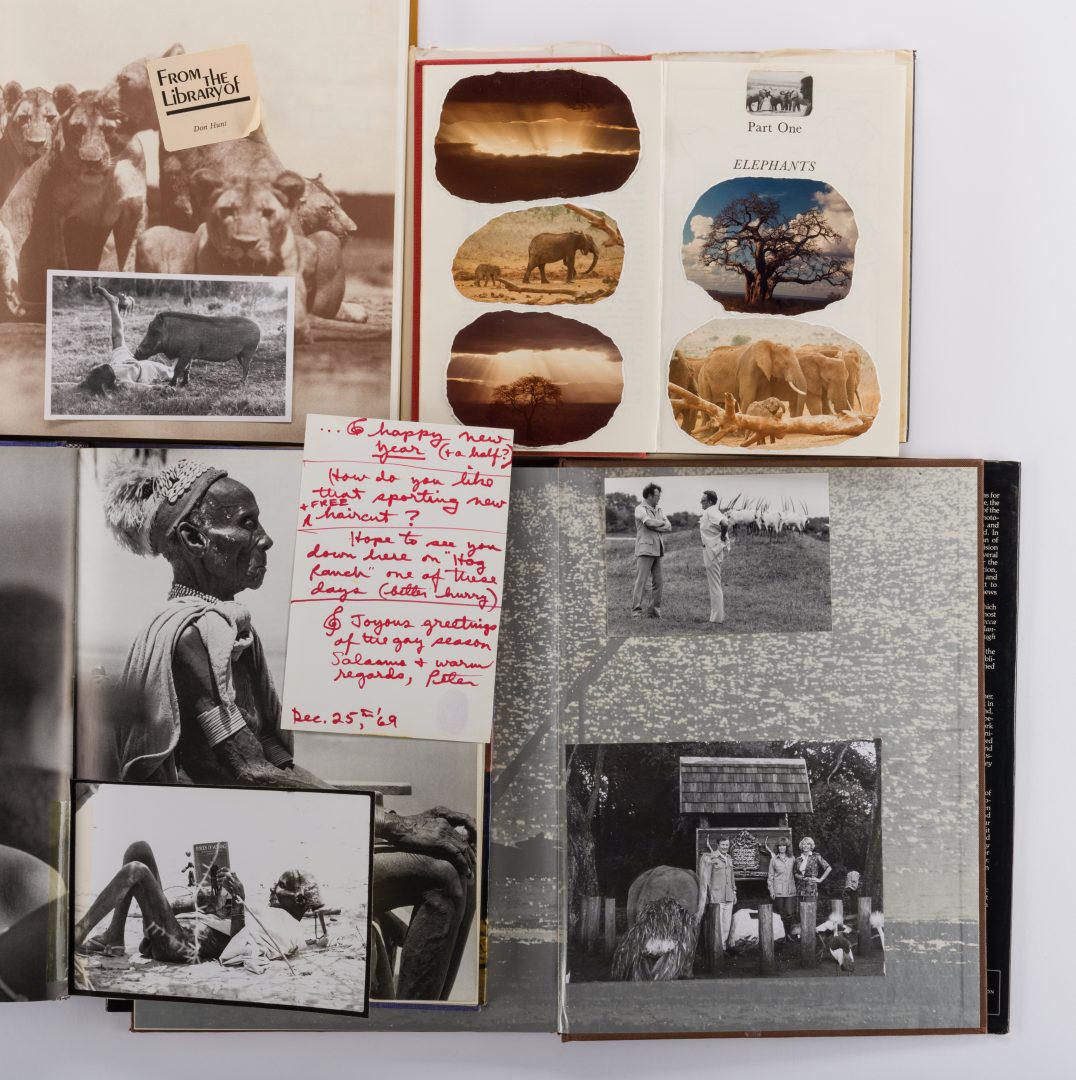 Lot 466: Don Hunt – Peter Beard Africa Archive, 7 items