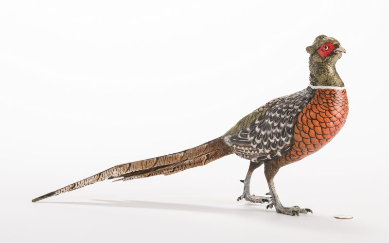 Lot 623: Bronze Pheasant, After Kauba