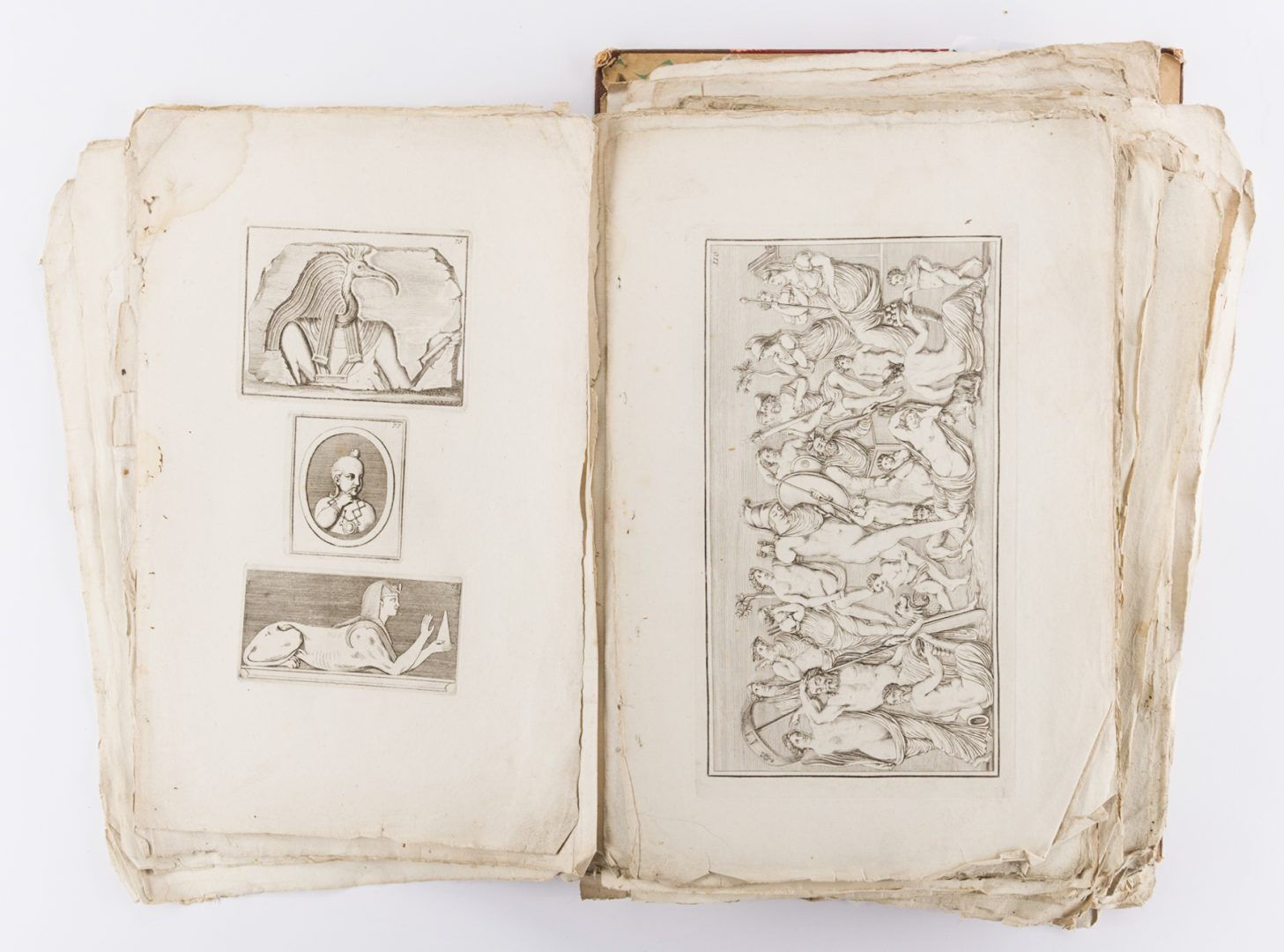 Lot 747: Early Italian Engravings, Winckelmann