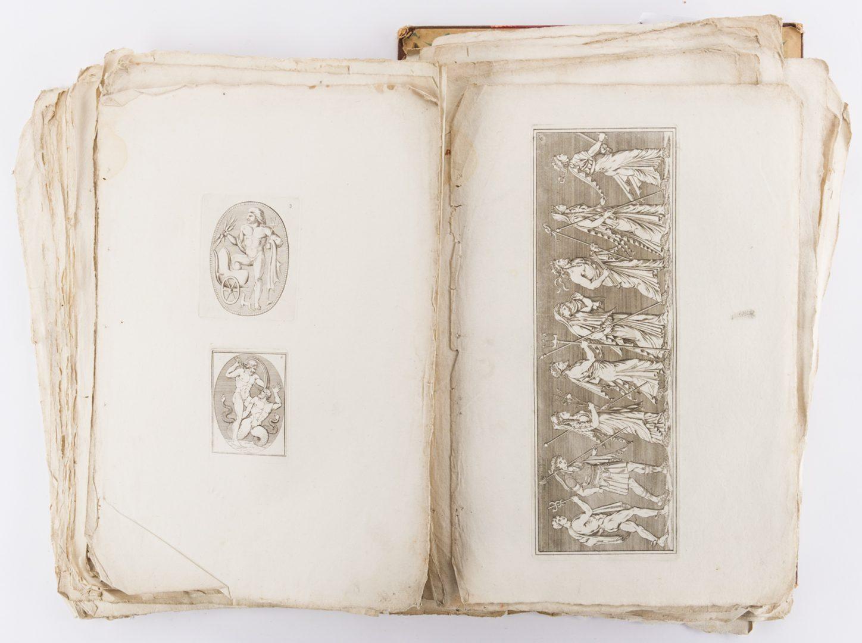 Lot 747: Early Italian Engravings, Winckelmann