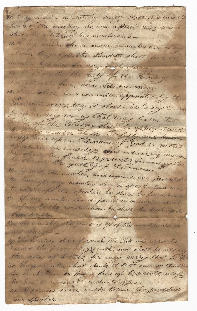 Lot 758: Large Early TN/VA Archive, 100 plus items
