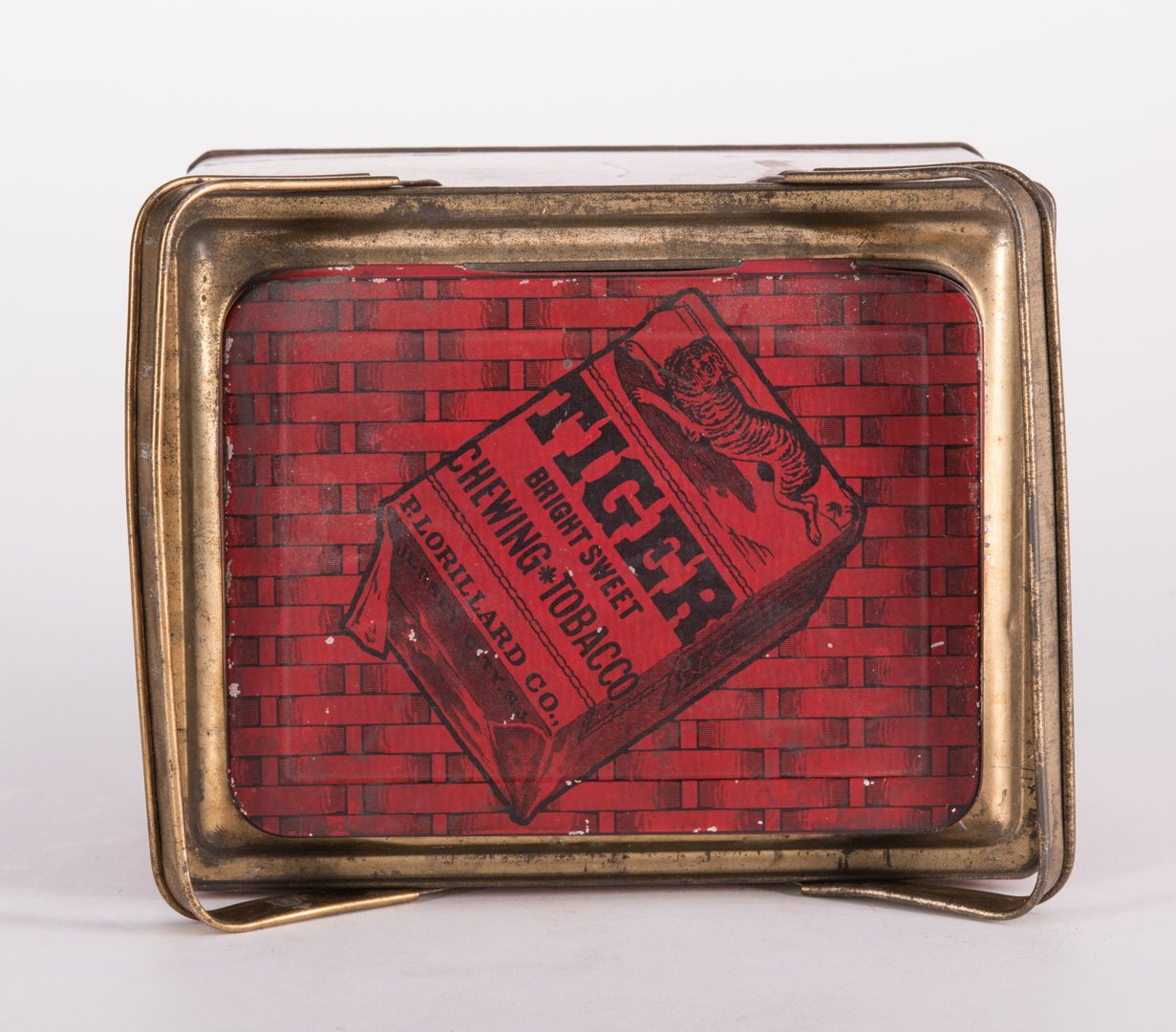 Lot 804: 6 Advertising Tobacco Tins, Tiger & Sterling