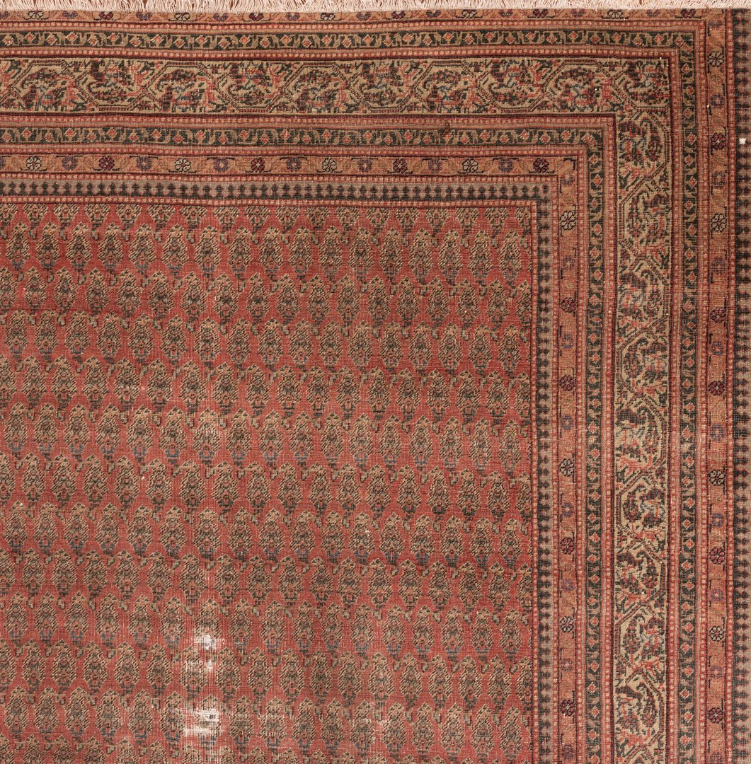 Lot 861: Antique Persian Saraband Carpet