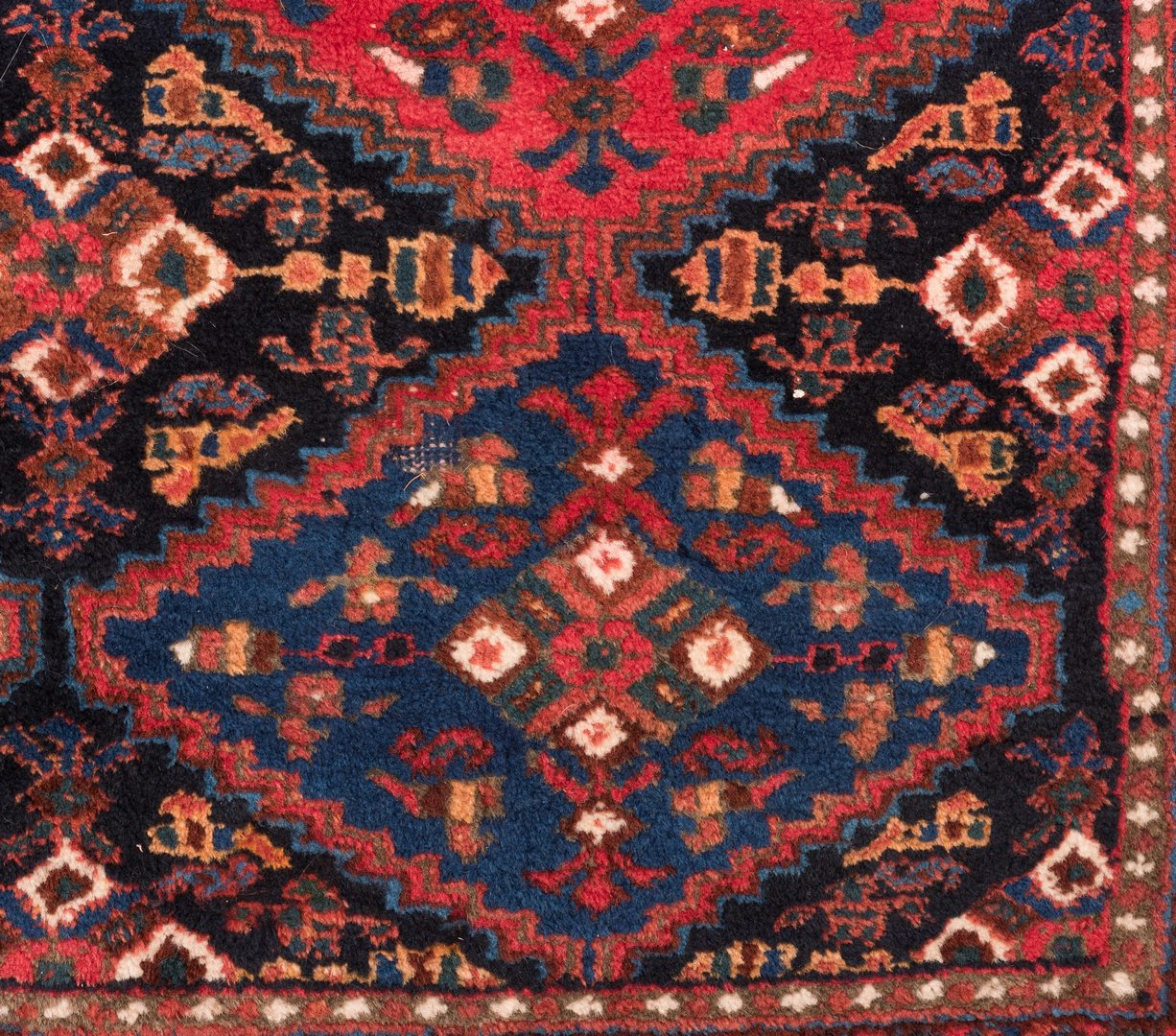 "Lot 862: Persian Afshar, 7'2"" x 5'3"", circa 1940"