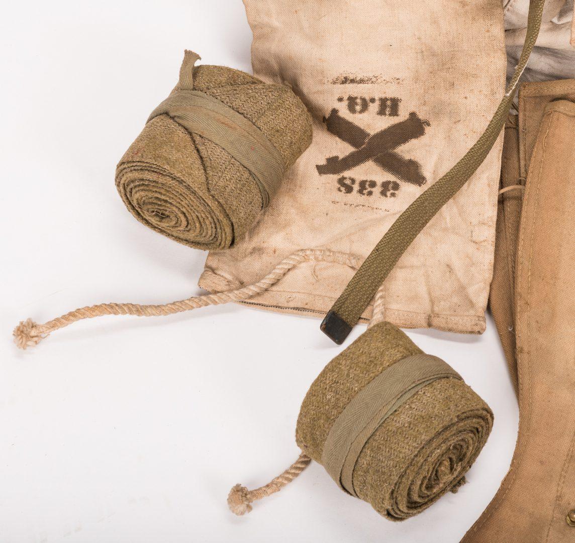 Lot 113: 13 WWI U.S. Military Equipment Items, J. A. Newman