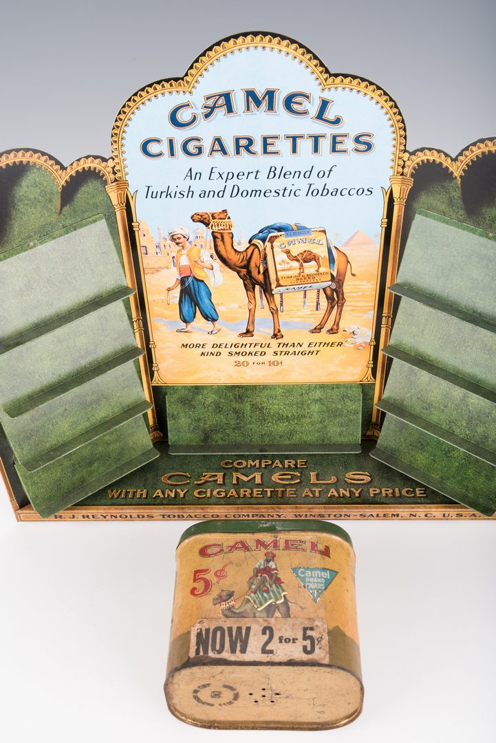 Lot 241: 5 Tobacco Advertising Items, inc. Camel