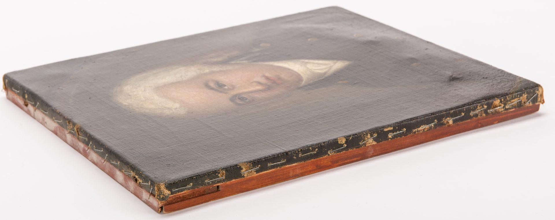 Lot 132: Portrait of a Revolutionary War Officer
