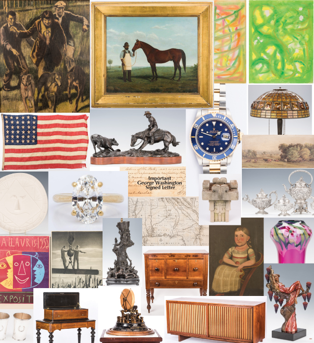 January 27, 2018 Historic Winter Fine Art and Antiques Auction