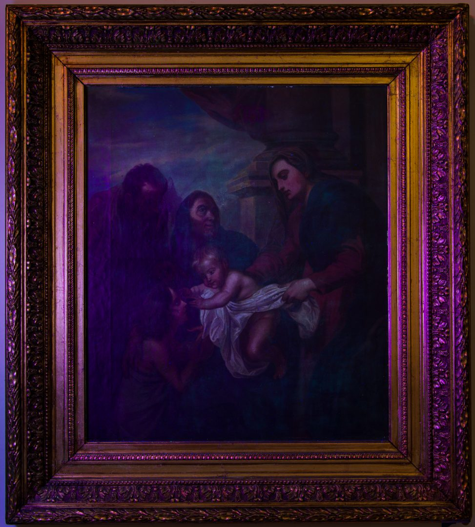 Lot 306: After Raphael, The Holy Family with St. Elizabeth