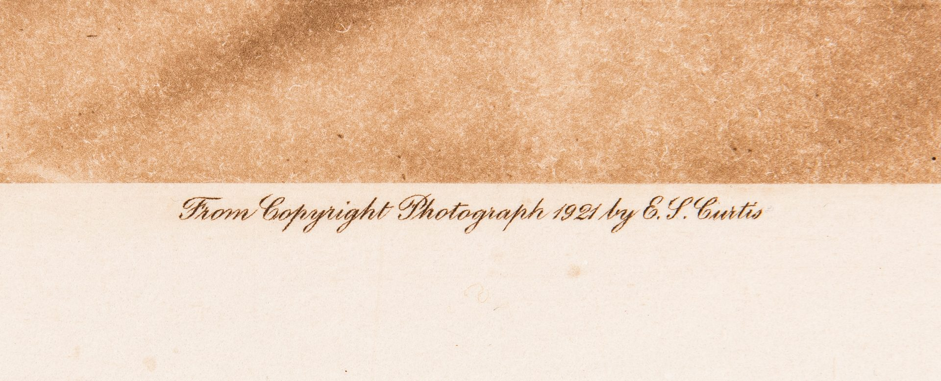 Lot 295: 6 E.S. Curtis Posthumous Photogravures