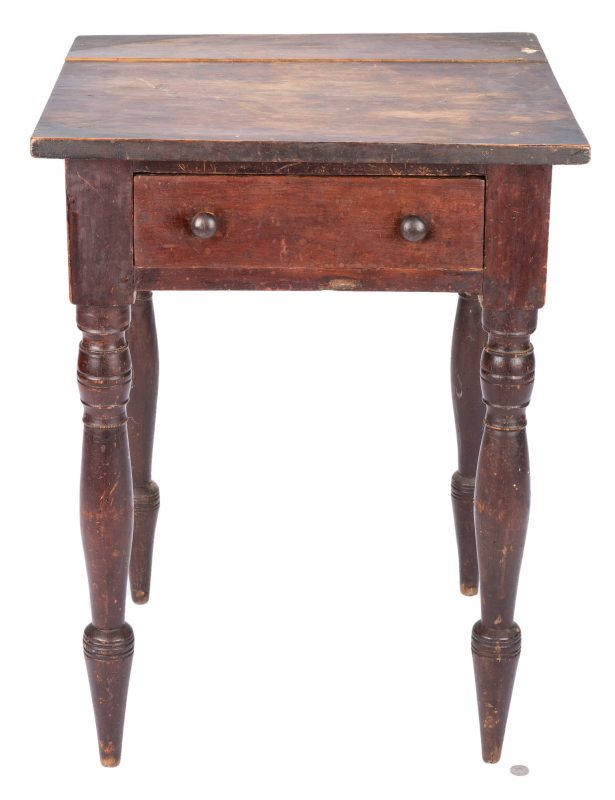 Lot 398: Georgia Cherry Work Table