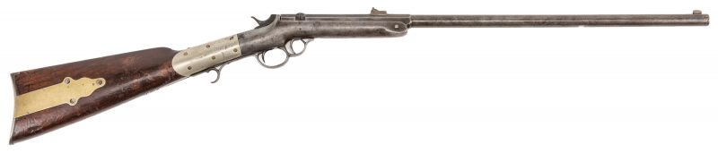 Lot 320: Kittredge Marked Wesson First Model Carbine, .44 rimfire cal.