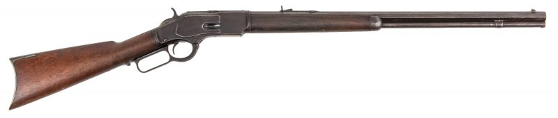 Lot 785: Winchester Model 1873, 32-20 Win Lever Action Rifle