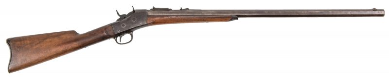 Lot 788: Remington Rolling Block Single Shot Rifle, .42 cal