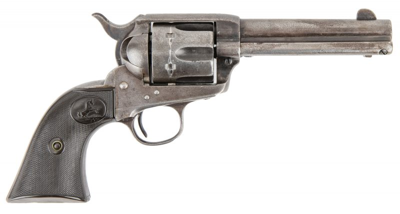 Lot 783: Colt Model P Single Action Army Revolver, .38-.40 Caliber