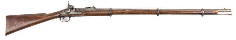 Lot 295: Confederate Blockade Run 1862 Enfield Tower Rifled Musket, .577 caliber