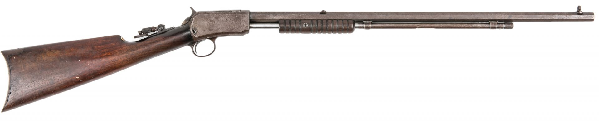 Lot 787: Winchester Model 1890 Slide-Action Repeating Rifle, .22 W.R.F.