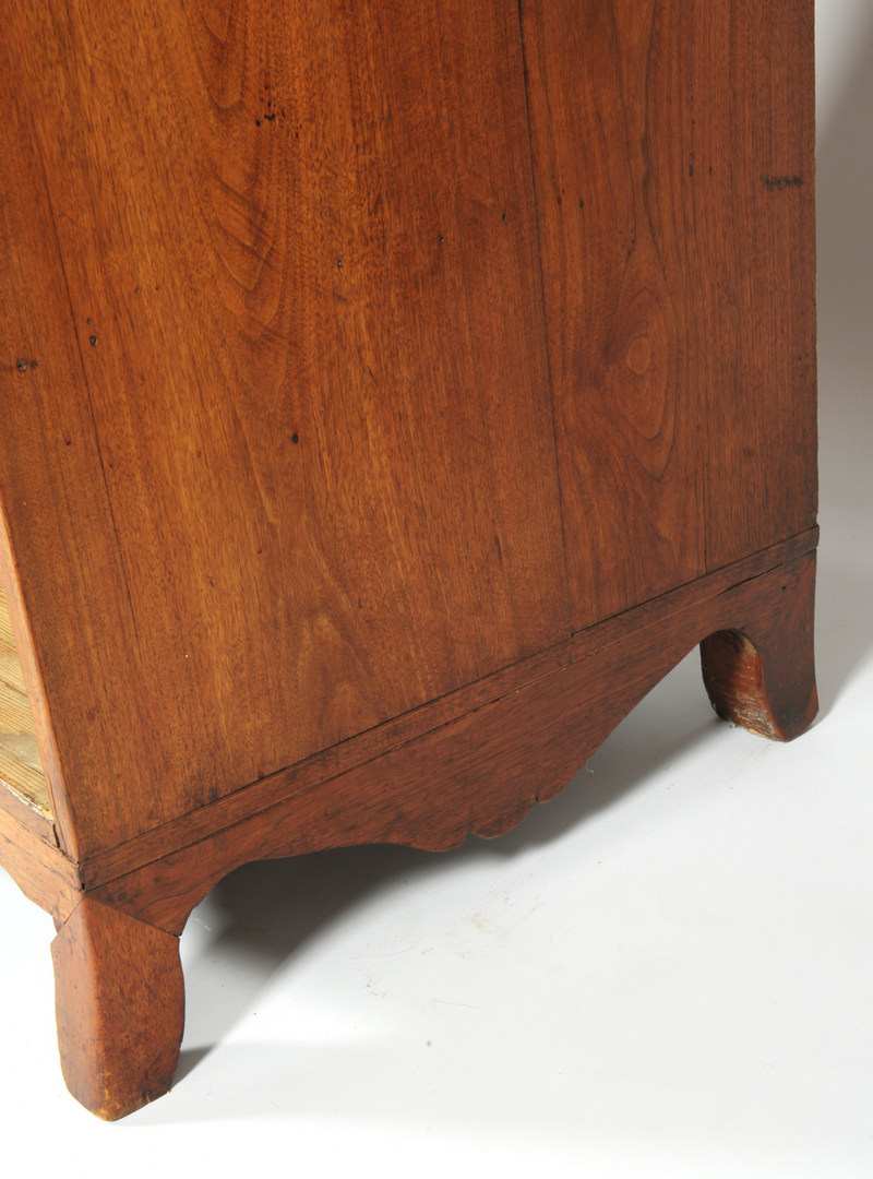 Lot 109: Southern Federal inlaid secretary-bookcase