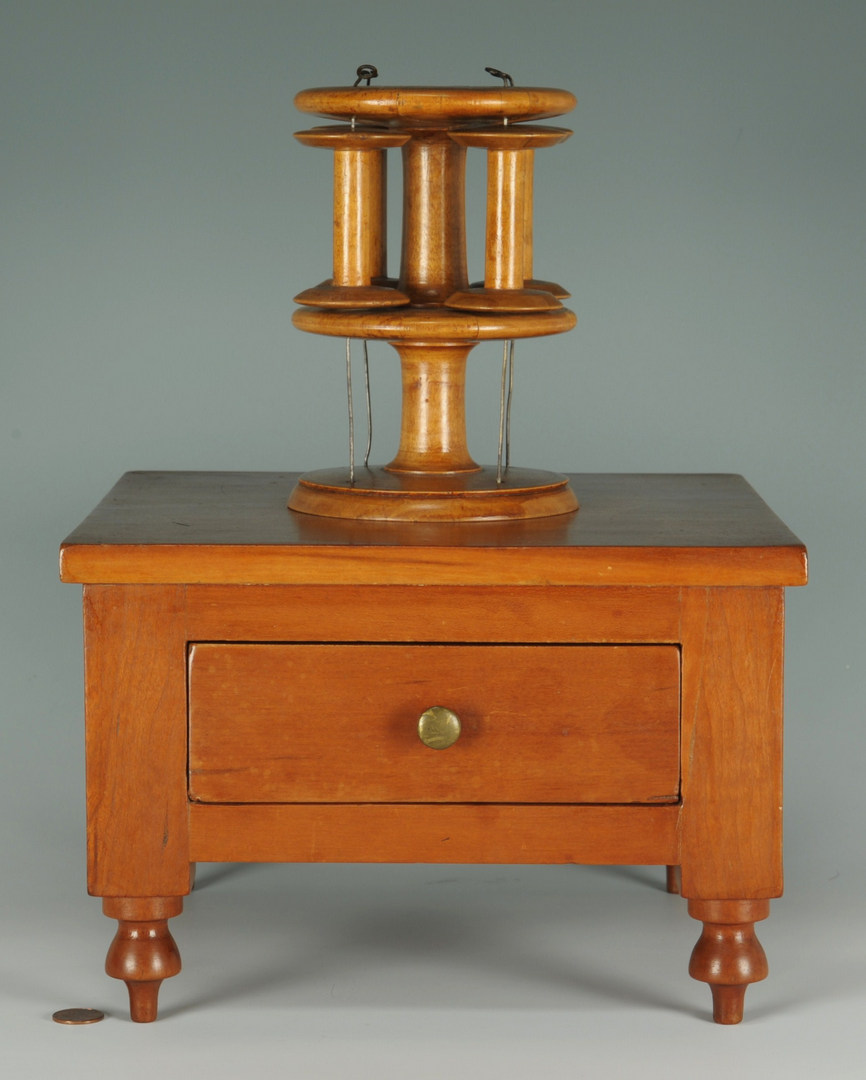 Lot 110: Southern Sewing Stand, TN or KY, poss. Shaker