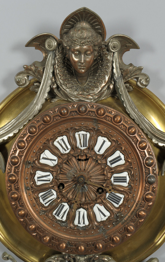 Lot 117: Aesthetic Movement Hanging Clock