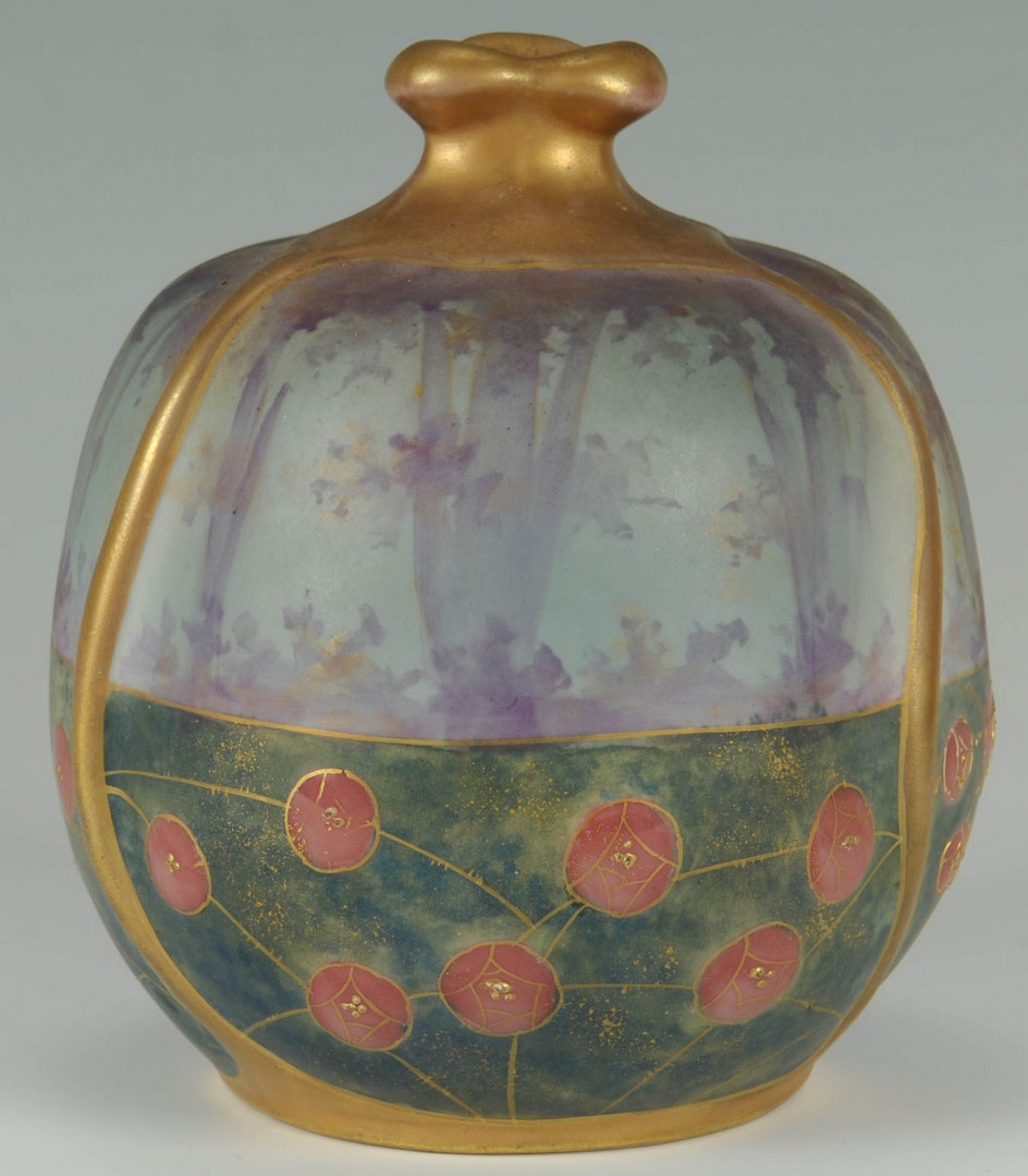 Lot 128: Riessner, Stellmacher & Kessel Amphora Vase