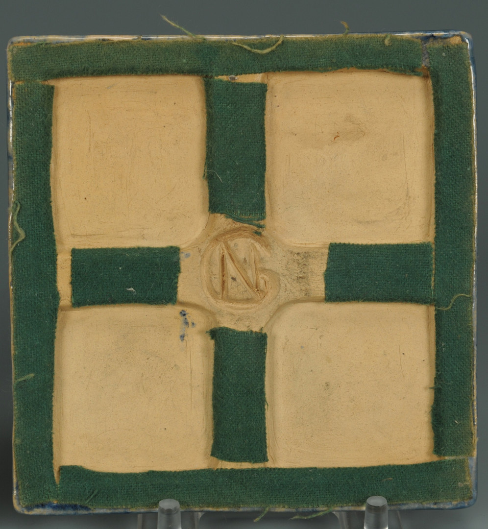 Lot 132: Newcomb College Tile and Mercer Moravian
