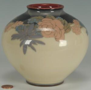 Lot 133: Rookwood Vase by Elizabeth McDermott