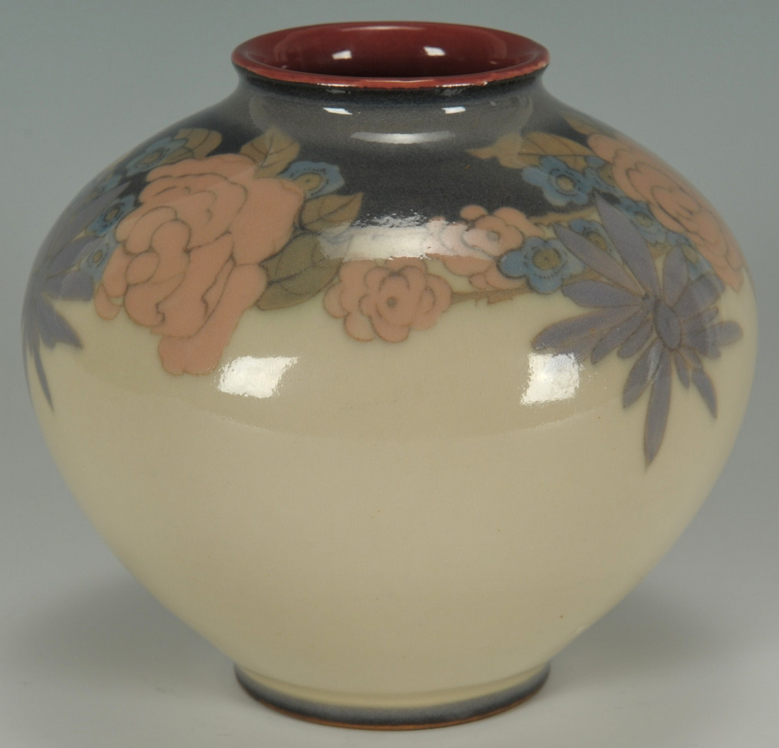 Lot 133: Rookwood Vase by Elizabeth McDermott