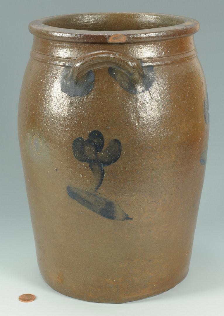 Lot 141: SW Virginia / East TN Pottery Jar, attrib. Decker