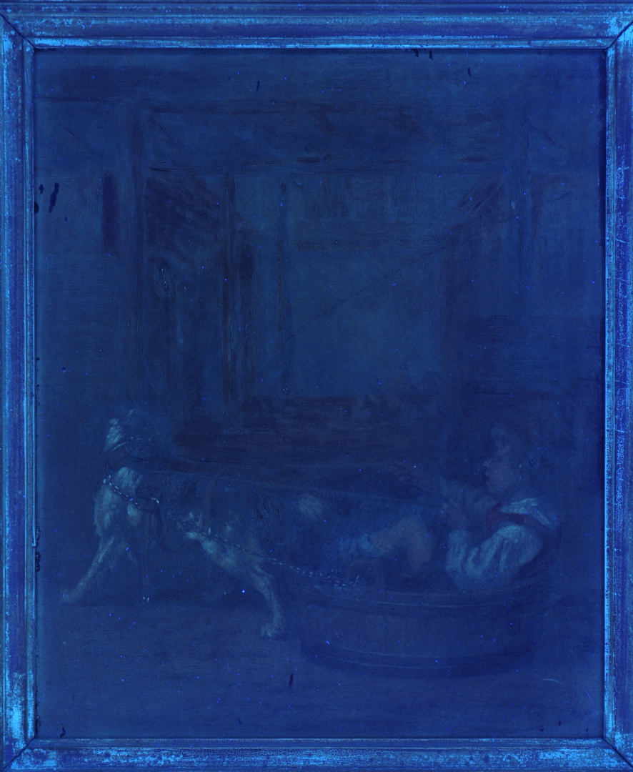 Lot 151: Joseph Gyselinckx Oil on Panel Painting