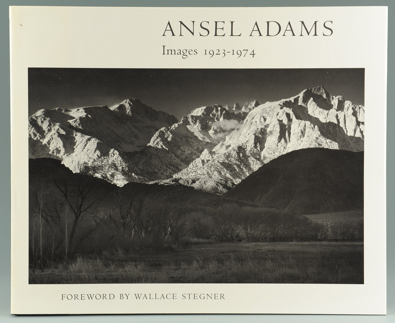 Lot 157: Ansel Adams, Images 1923-1974, 1st edition book