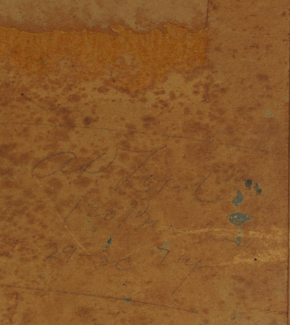 """Lot 160: Kenneth Nunamaker oil on board, """"Choar Time"""""""