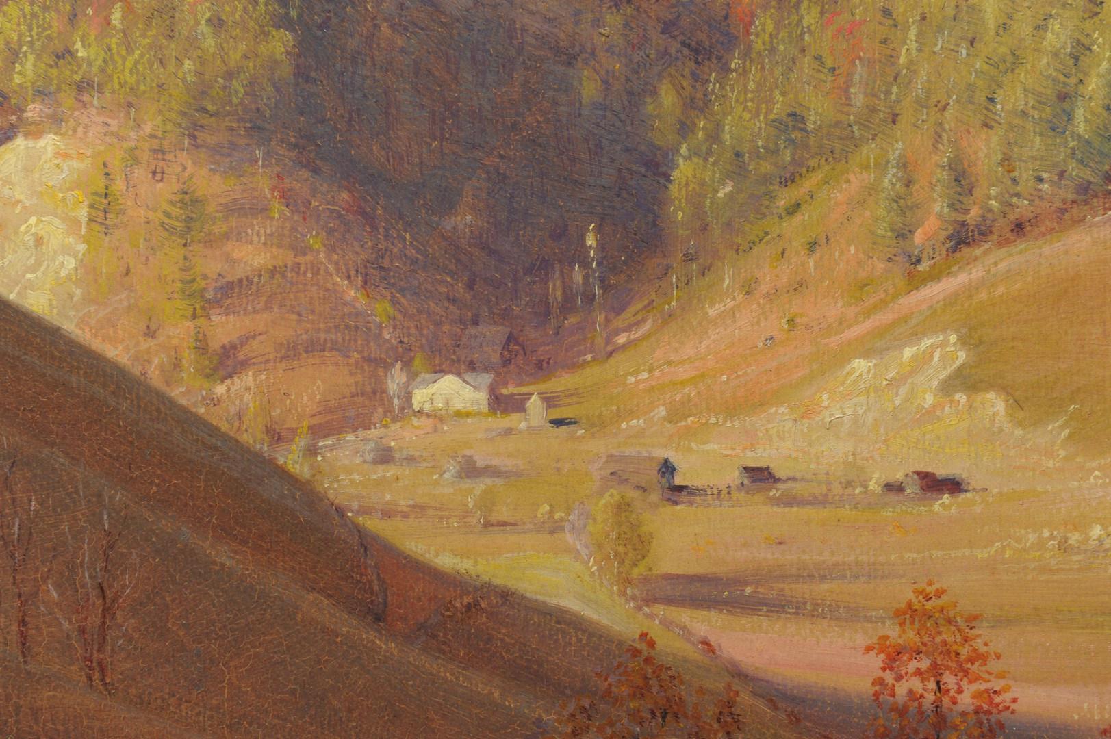 Lot 165: Lorentz Kleiser o/b, November in the TN Mountains