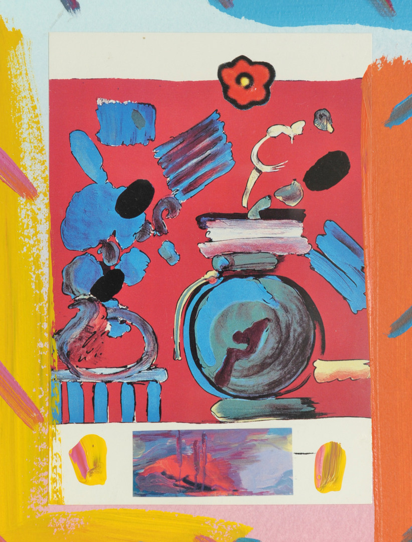 Lot 168: Peter Max Collage
