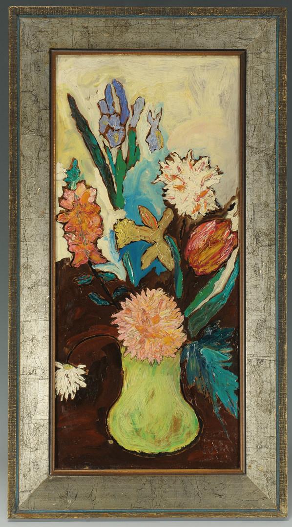 Lot 169: Impressionist Still Life, signed Rubin '59
