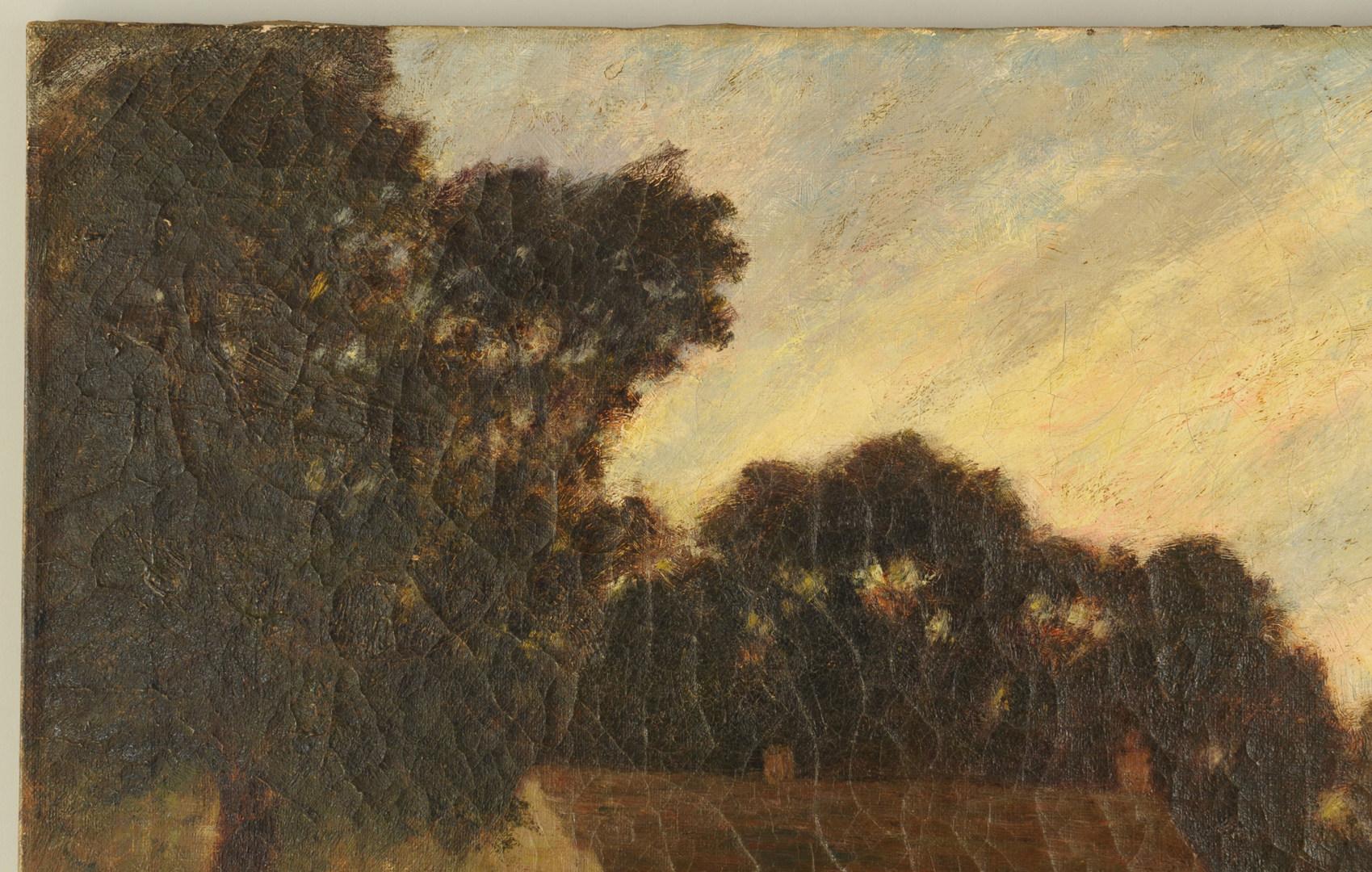 Lot 172: W.P. Silva o/c, Lookout Battlefield, Cravens House