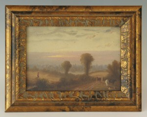 Lot 180: Painting attrib. to Thomas Campbell, signed Quist