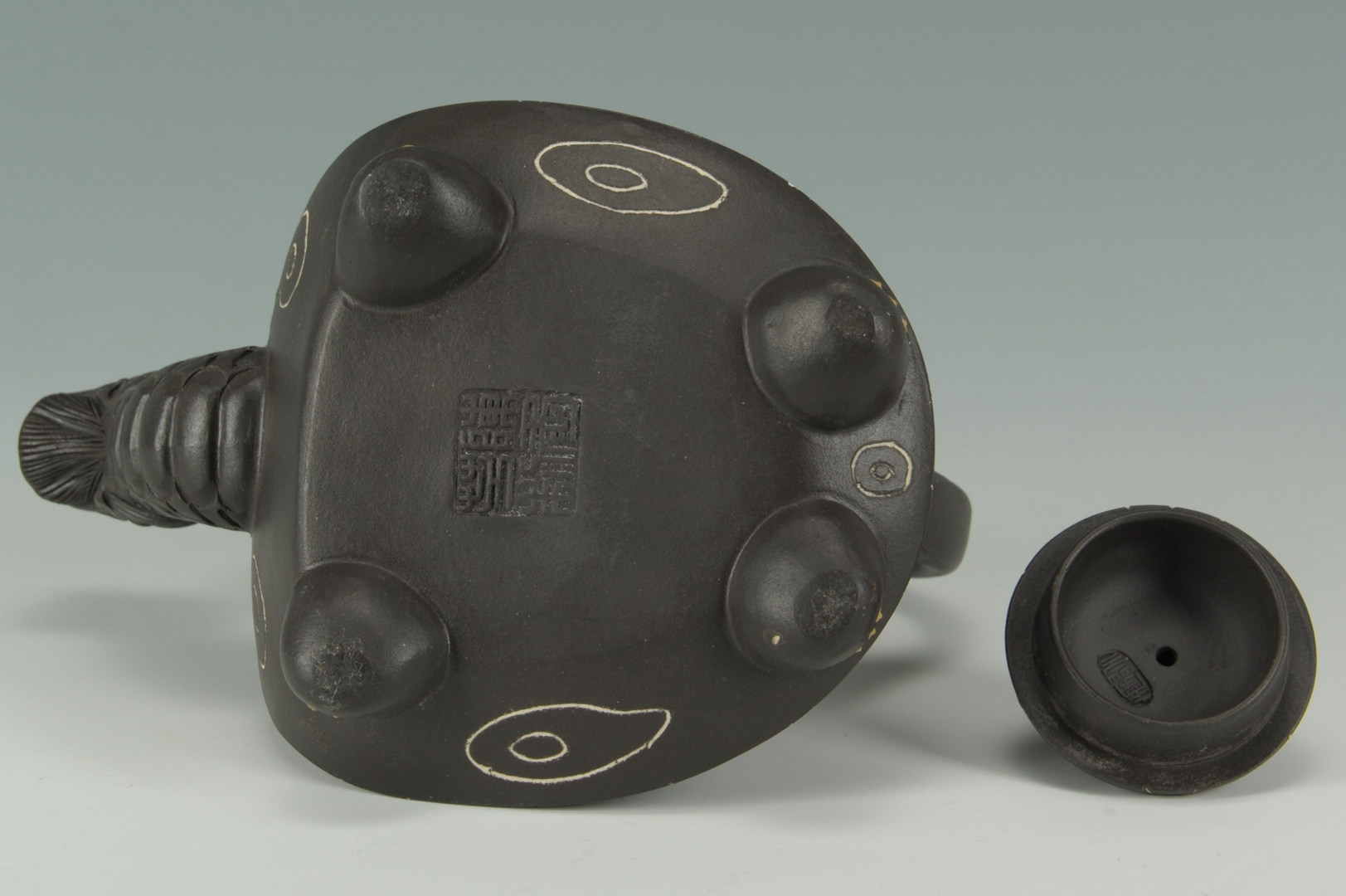 Lot 205: Chinese Yixing Teapot with Dragon