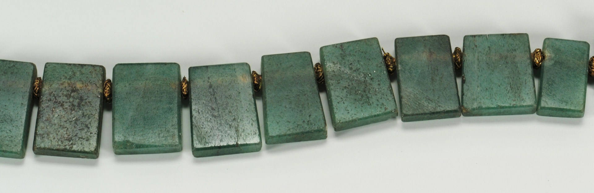 Lot 215: Chinese Green Jade Necklace