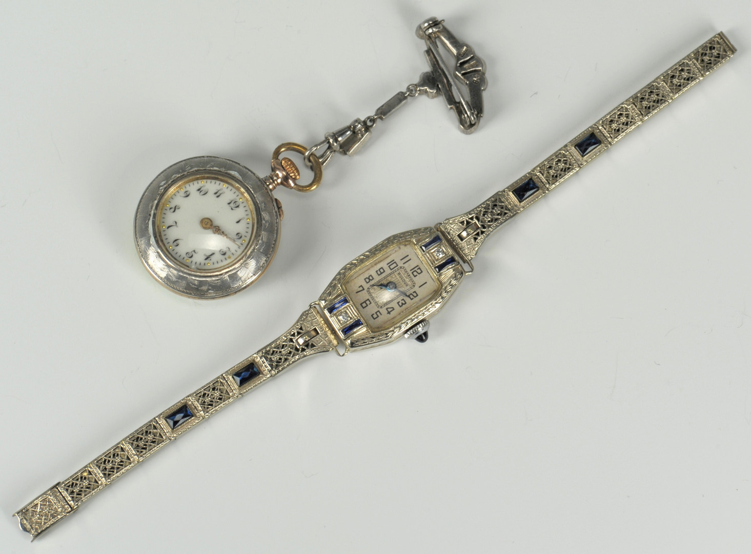 Lot 219: Group of Ladies Watches incl pendant watch