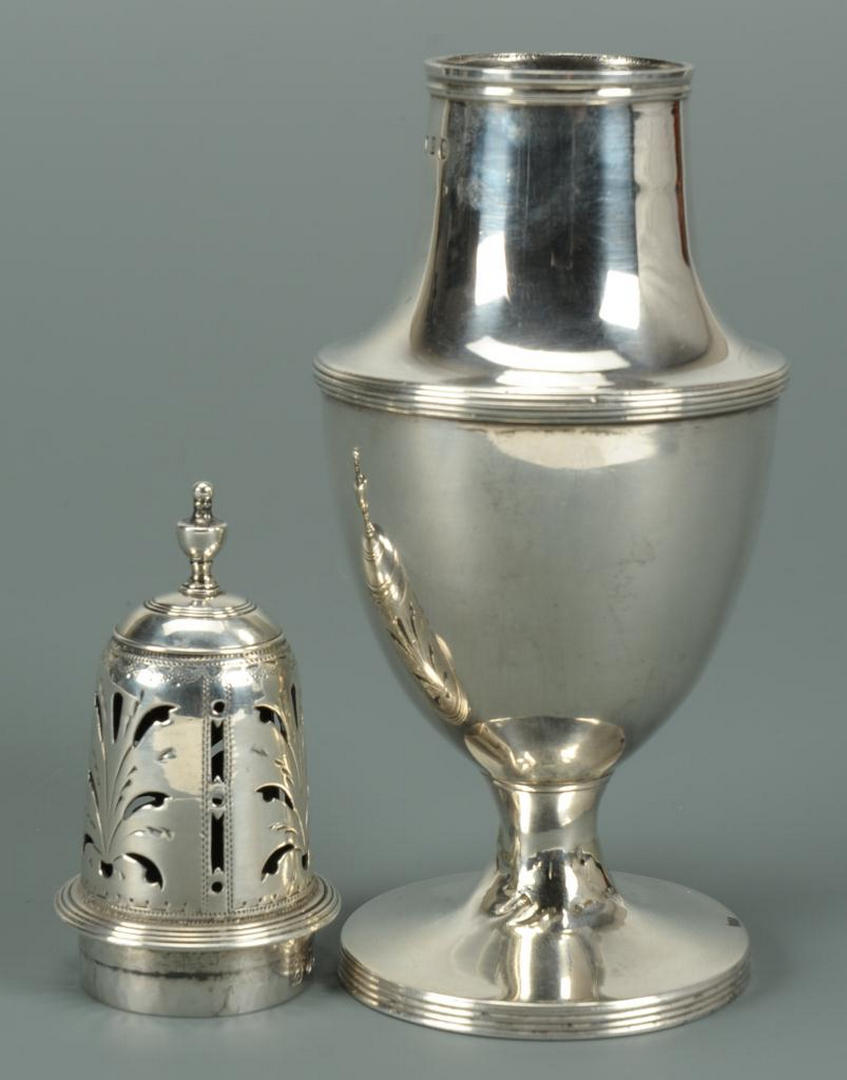 Lot 223: George III Sterling Caster by William Southey