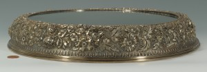 Lot 228: Jacobi and Jenkins Sterling Repousse Plateau