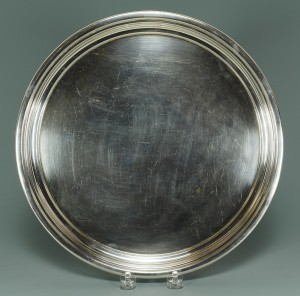 Lot 233: Randahl Sterling silver platter