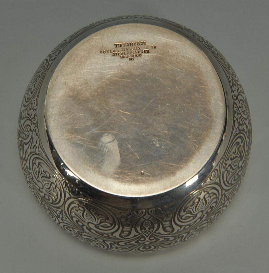Lot 242: Tiffany Sterling Silver Powder Jar