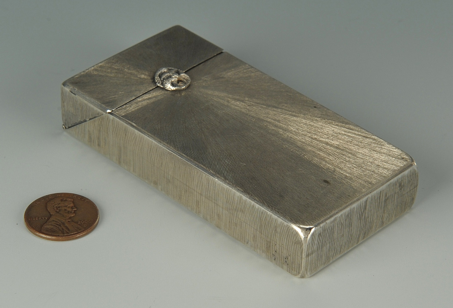 Lot 243: Tiffany & Company Silver Box