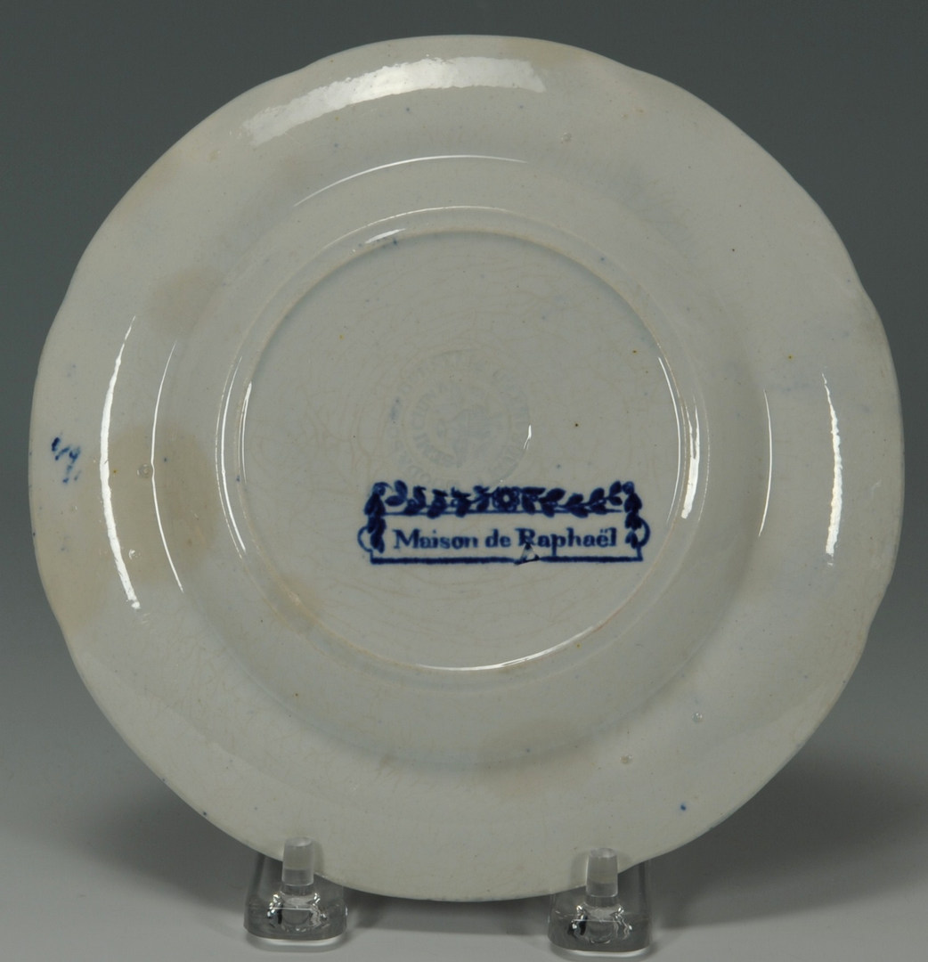 Lot 252: Group of Historic Staffordshire Plates