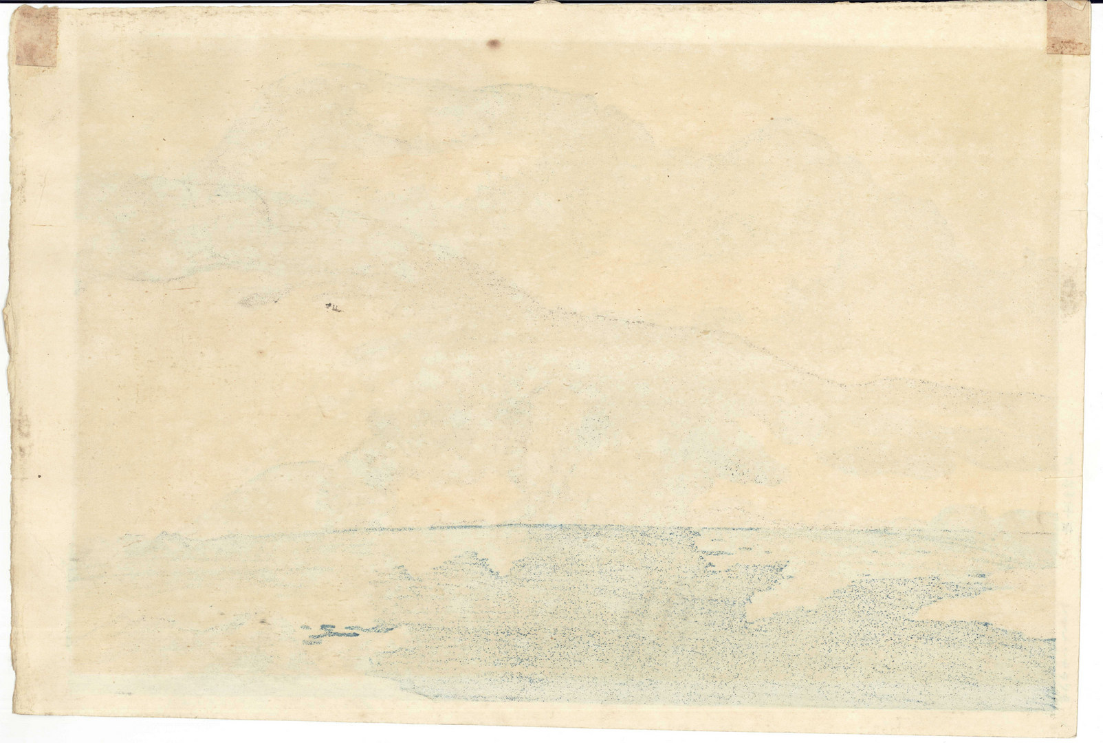 """Lot 25: Yoshida Hiroshi woodblock, """"Breithorn"""""""